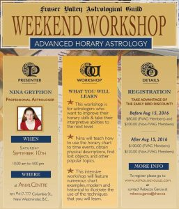 workshop-advanced-horary-astrology- August 15, 2016